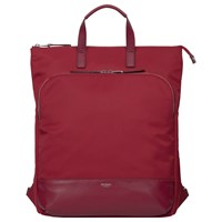 Knomo Harewood Slim Tote Backpack For 15 Laptop Cherry