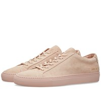 Common Projects Original Achilles Low Suede Pink