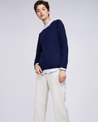 Aspesi Wool Sweater Cornflower Blue