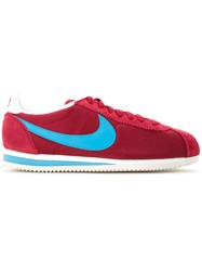Nike Classic Cortez Sneakers Red