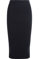Iris And Ink Lucia Milano Knitted Wool Pencil Skirt