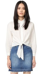 Solid And Striped The Taylor Button Up Shirt White