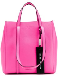 Marc Jacobs Logo Tag Tote Pink