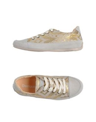 Desigual Low Tops And Trainers Beige