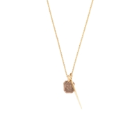 J.Crew James Colarussotm14k Small Point Rose And Thistle Pendant Yellow Rose Gold