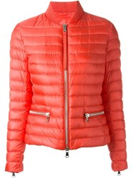 Moncler 'Blennie' Puffer Jacket Pink And Purple