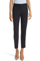Boss Women's 'Tiluna' Stretch Wool Slim Leg Ankle Trousers Navy