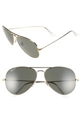 Men's Ray Ban 'Aviator' Polarized 62Mm Sunglasses