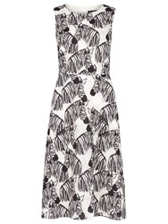 Sugarhill Boutique Liza Zebra Dress Black White