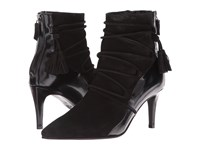 Kennel And Schmenger Lace Front Tassle Boot Black Leather