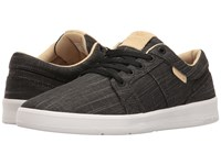 Supra Ineto Black White Men's Skate Shoes