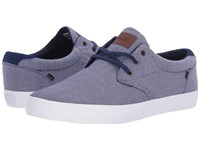 Globe Willow Navy Chambray Men's Skate Shoes Gray