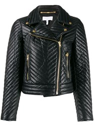 Escada Sport Quilted Style Cropped Biker Jacket 60