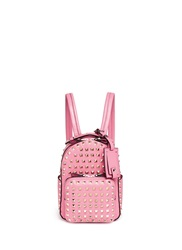 Valentino 'Rockstud' Mini Leather Backpack Pink