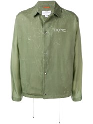 Oamc Classic Shirt Jacket Green