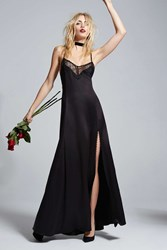 Love Courtney By Nasty Gal Once And Destroy Satin Maxi Slip