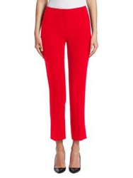 Emporio Armani Tailored Cotton Pants Carnation