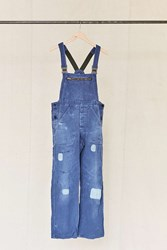 Urban Renewal Vintage Patched Workwear Denim Overall Assorted