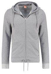 Boss Orange Ztager Tracksuit Top Light Pastel Grey Light Grey