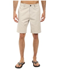 O'neill Anchor Walkshorts Stone Men's Shorts White