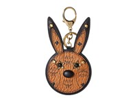 Mcm Animal Rabbit Mirror Charm Cognac