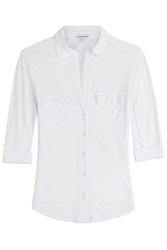 James Perse Cotton Top White