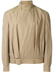 J.W.Anderson J.W. Anderson Belted Collar Jacket Nude And Neutrals