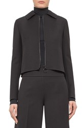 Women's Akris Punto Short Wool Gabardine Jacket
