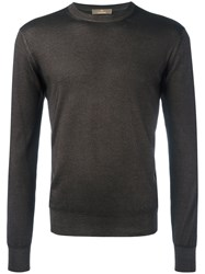 Cruciani Casual Sweatshirt Brown