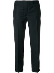 Thom Browne Striped Low Rise Wool Trouser Blue