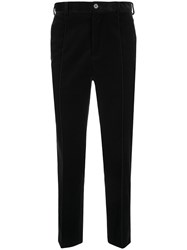 Loveless Textured Cropped Tailored Trousers 60