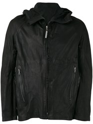 Isaac Sellam Experience Hooded Leather Jacket 60