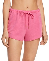 Honeydew Starlight French Terry Shorts Pink Watermelon