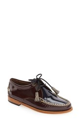 G.H. Bass Women's And Co. 'Winnie' Leather Oxford Brown Multi Leather