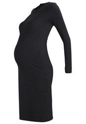 Mama Licious Mlsenia Jersey Dress Black