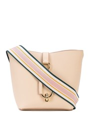 Zac Posen Belay Hobo Shoulder Bag Neutrals