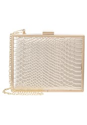 New Look Britney Clutch Gold