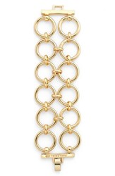 Women's Trina Turk Double Row Link Bracelet