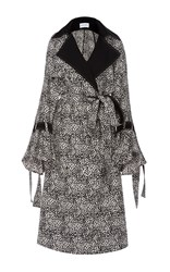 Prabal Gurung Trench Coat Print