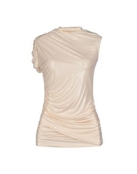 Elisabetta Franchi For Celyn B. T Shirts Ivory