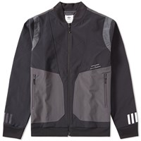 Adidas X White Mountaineering Varsity Jacket Black