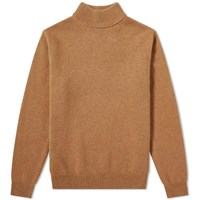 Harmony Wynn Turtle Neck Knit Brown