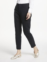 Ralph Lauren Polo Brooke Stretch Twill Cropped Trousers Black