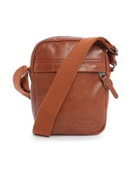 Eastpak Camel The One Leather Bag