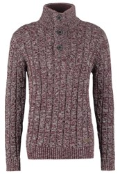 Petrol Industries Jumper Burgundy Bordeaux