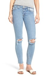 Hudson Jeans Women's Nico Raw Hem Ankle Super Skinny Hooligan