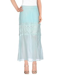 Just For You Skirts Long Skirts Women Sky Blue