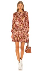 Free People Heartbeats Mini Dress In Red.