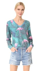 Wildfox Couture Miami Palms Sweatshirt Multi
