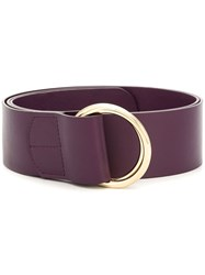 Rochas O Ring Belt Purple